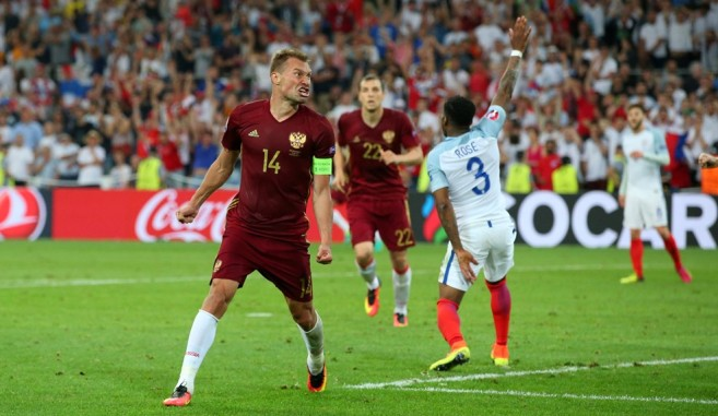 Russia scored a late equaliser against Russia image: en.trend.az