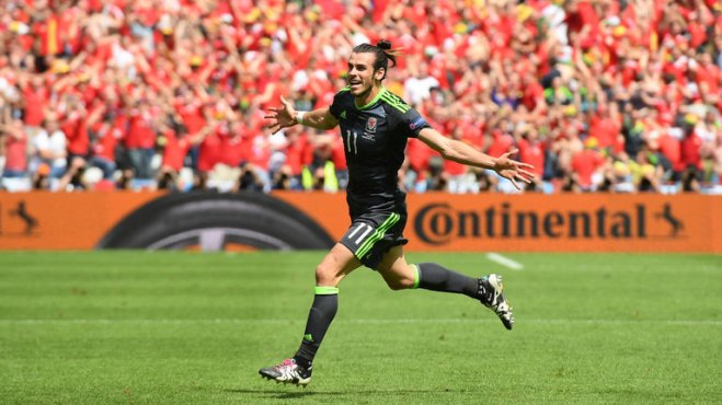 Gareth Bale has scored two free kicks for Wales at Euro 2016 image: skysports.com
