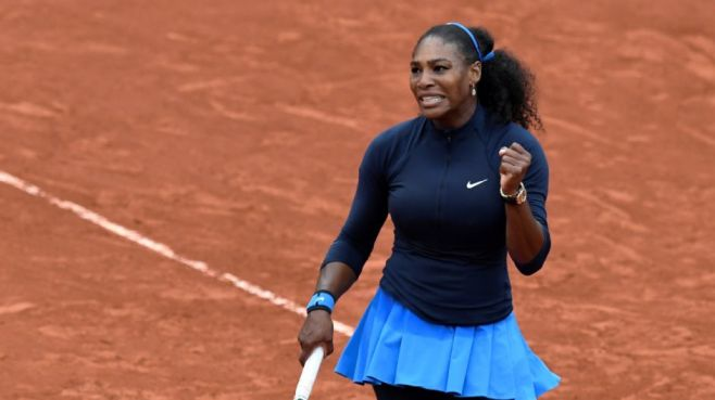 Serena Williams had to dig deep once again to reach the final four at Roland Garros image: espn.com