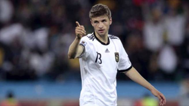 Thomas Muller has 32 goals in over 70 appreances for Germany image: youtube.com