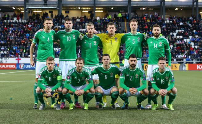 Nortern Ireland are currently on a 12 match unbeaten run image: realsport101.com