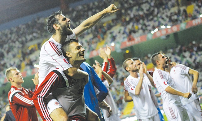 Albania are hoping to cause a major shock at Euro 2016 image: soccerbox.com