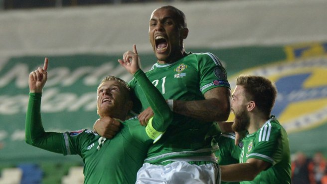 This is Northern Ireland's first major tournament since the 1986 World Cup image: skysports.com