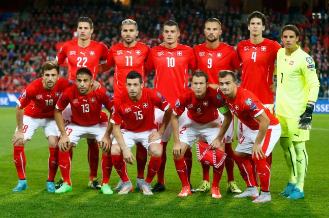 Switzerland's last European Championship was as co-host in 2008 image: eu-football-info.tumblr.com