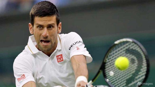 Top seed Novak Djokovic is aiming for a calendar grand slam image: talkvietnam.com