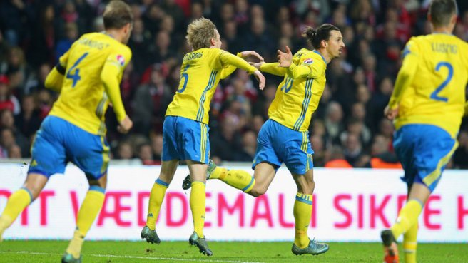 Sweden failed to make it out of thier group in thier last two Euros image: skysports.com