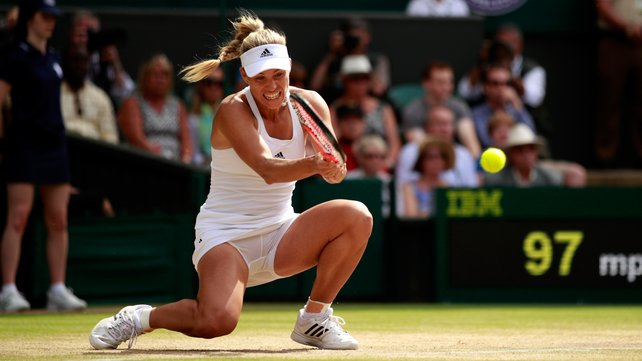Angelique Kerber aims to become Wimbledon's final German winner since Steffi Graf in 1996 image: rte.ie