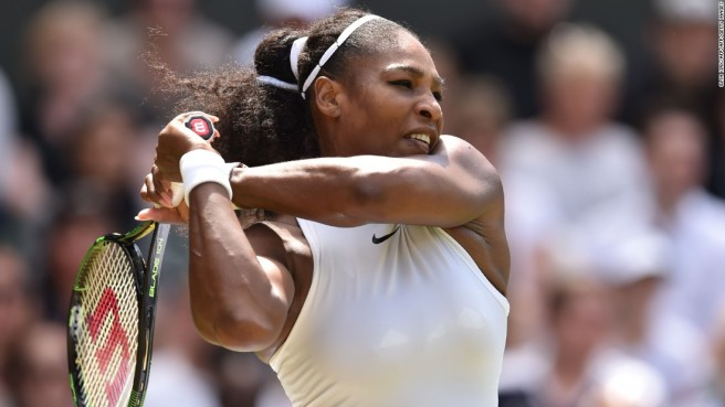 Serena Williams cruised past Annika Beck to reach the fourth round image: edition.cnn.com