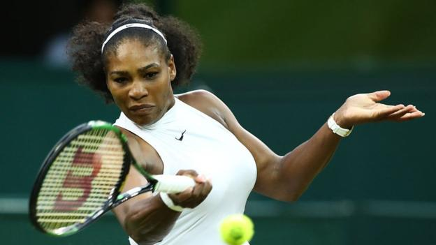 Serena Williams battled from a set down to remain on course to retain her title image: sportsnewswall.com