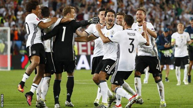 Despite missing three penalties, Germany are through to the semif-inals image: allnewsandreports.com