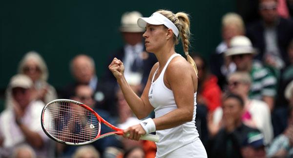 Angelique Kerber beat Serena Williams to win the Australian Open image: eveningecho.ie