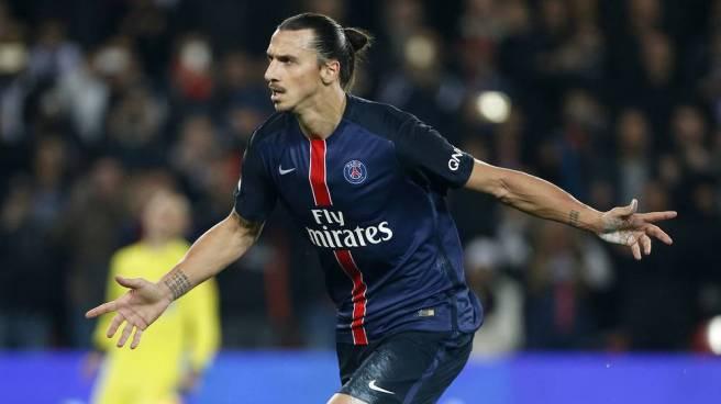 Zlatan Ibrahimovic sored 50 goals for PSG last season image: ambwallpapers.com