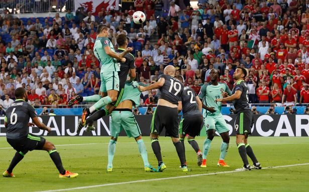 Cristiano Ronaldo inspired Portugal to victory over Wales image: mirror.co.uk