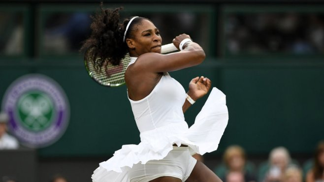 Serena Williams has not won a grand slam since last year's Wimbledon image: skysports.com