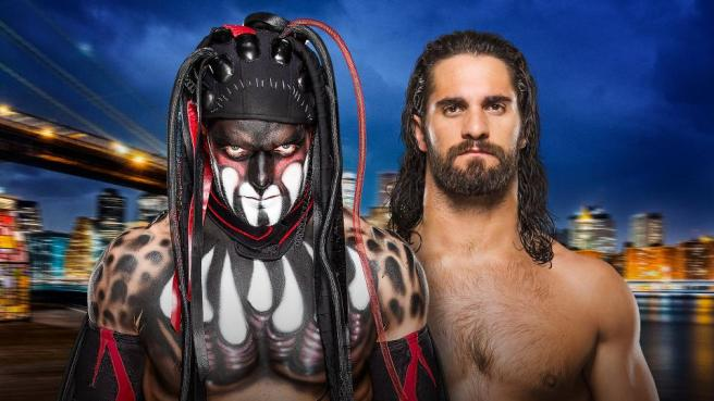 Seth Rollins and Finn Balor battle it out to become the first ver Universal Champion image: wwe.com