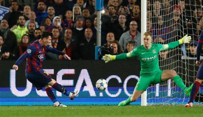 Barcelona knocked out Man City in two of the past three Champions League campaigns image: foto.viva.co.id
