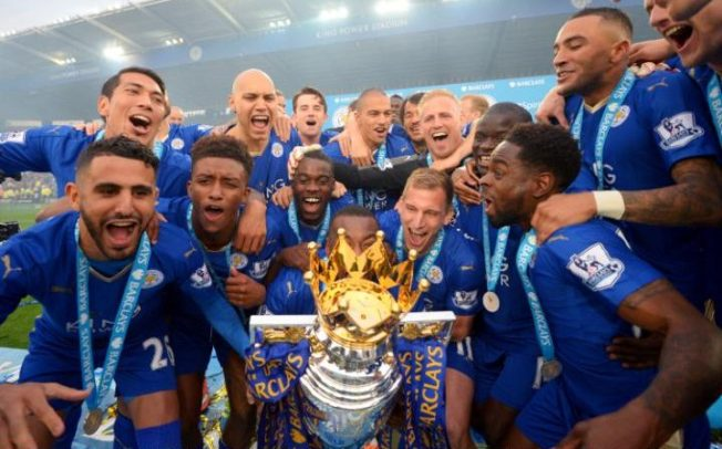 Leicester were 5000/1 to win the title at the start of last season image: telegraph.co.uk