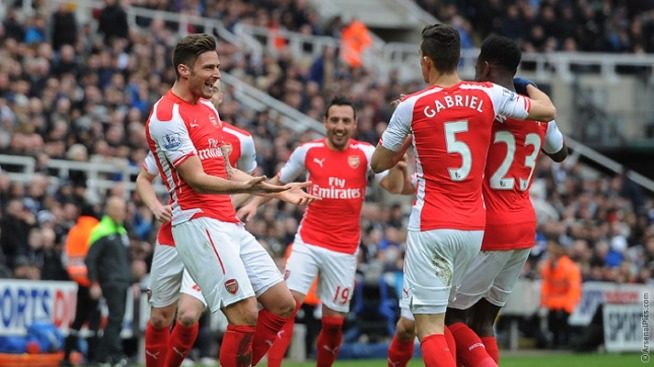 Arsenal beat rivals Tottenham to second place last season image: arsenal.com