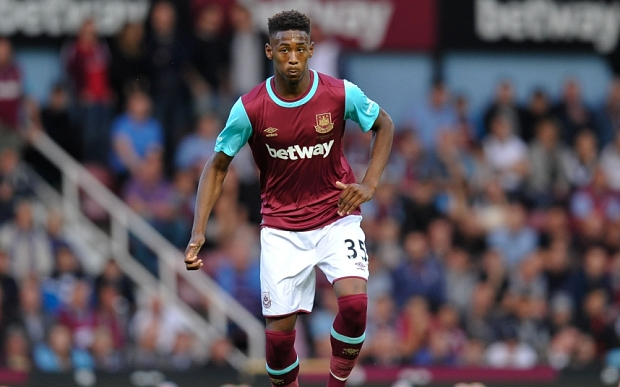 Reece Oxford is West Ham's youngster ever palyer to featire in the first team image: telegraph.co.uk