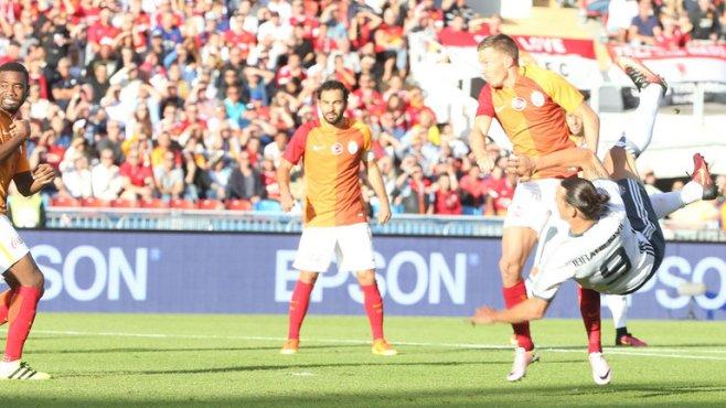 Zlatan Ibrahimovic scored four minutes into his Man Utd debut image: skysport.com