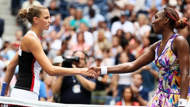 Tenth seed Karolina Pliskova stunned two-time champion Venus Williams image: rte.ie