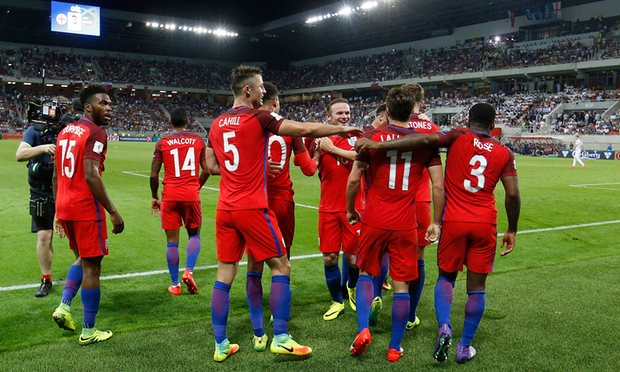 England got thier qualifying campaign off to an unconvincing win in Slovakia image: theguardian.com