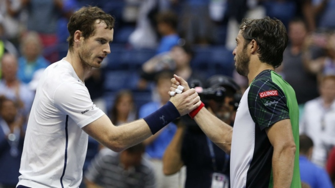 Andy Murray had to did deep to see off Italy's Lorezno image: cbc.ca