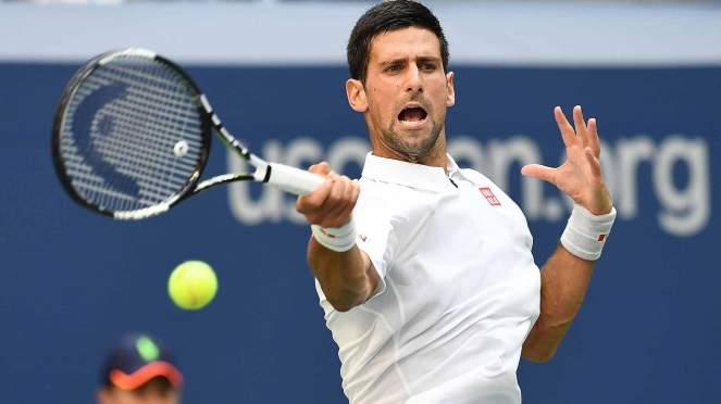 Novak Djokovic made it 13 wins from 13 againsr tenth seed Gaels Monfils image: atpwordtour.com