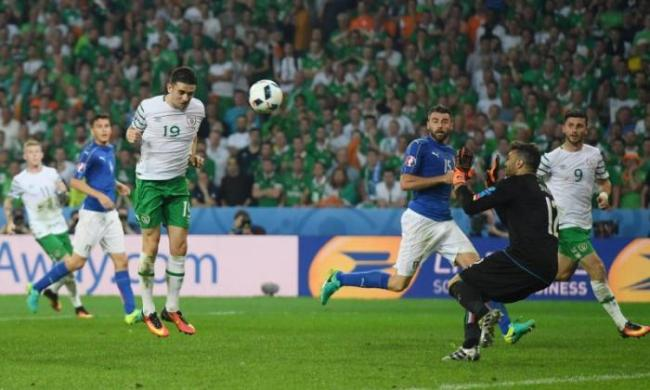 Robbie Brady was Ireland's star man at Euro 2016 image: talksport.com