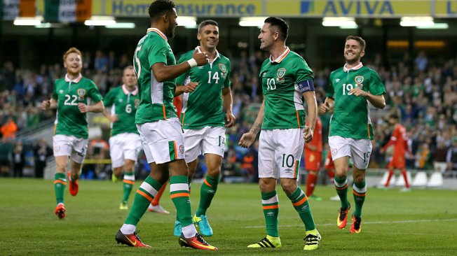 Ireland repae for life without record goalscorer Robbie Keane image: skysports.com