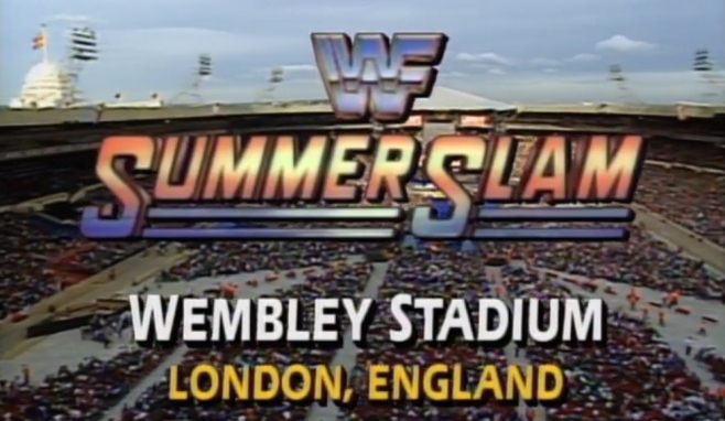 SummerSlam 1992 was the first WWE pay-per-view to take place outisde if North America image: network.wwe.com