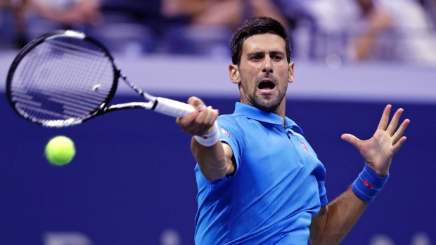 Novak Djokovic will face the in-form Gaels Monfils in the semi-finals image: cbc.ca