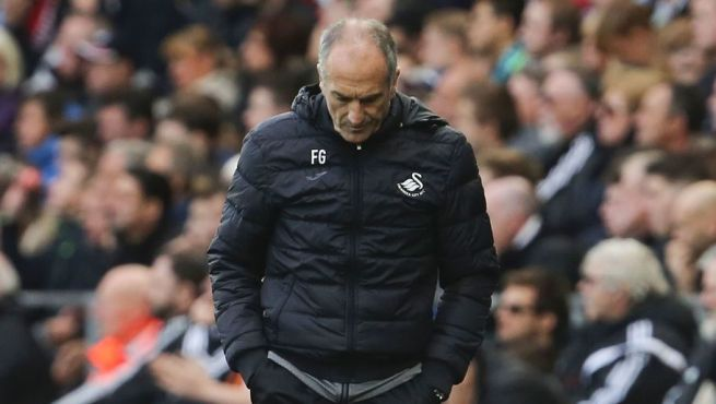 Francesco Guidolin was appointed Garry Monk's successor back in January image: tonyruik.com