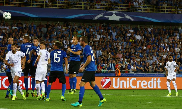 Leicester have picked up ten points from a possible 12 in their debut Champions League campaign image: theguardian.com
