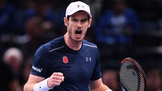 Andy Murray ends Novak Djokovic's 122 week stay as world number one image: sportal.co.nz