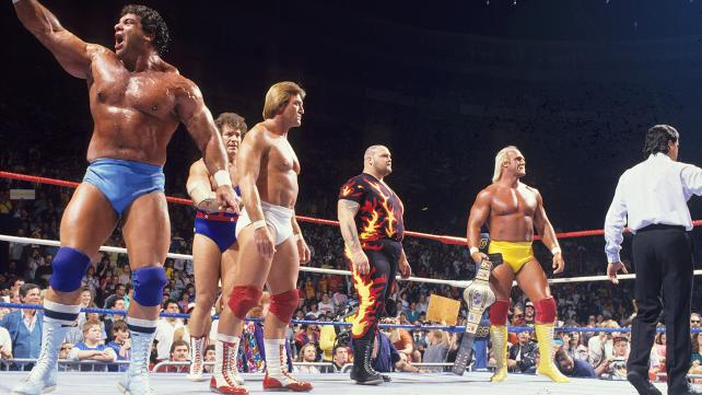 Hulk Hogan's countout proved costly as Team Andre came out on top image: dailyddt.com
