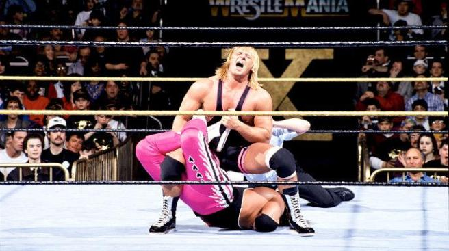 Bret Hart lsot to brother Owen before going on to beat Yokozuna for the WWE title image: wwe.com
