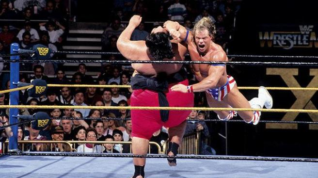 If Luger had captured the WWE title from Yokozuna, he would have faced Bret Hart in the main event image: wwe.com