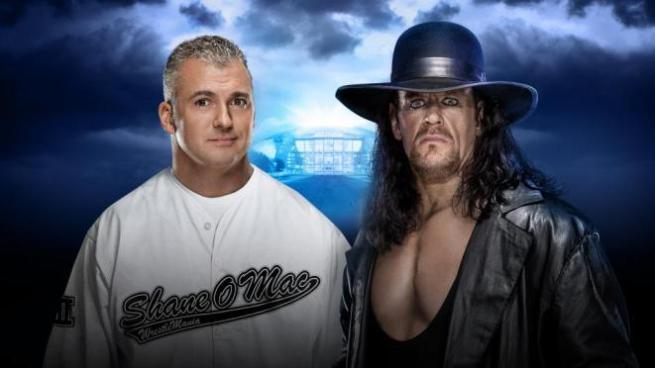 Shane McMahon went to war with Undertaker at WrestleMania image: wwe.com