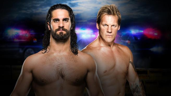 Seth Rollins looks for revenge on Chris Jericho after he cost him the Universal title image: wwe.com