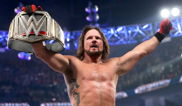 AJ Styles won the WWE Championship just seven months after his debut image: stillrealtous.com