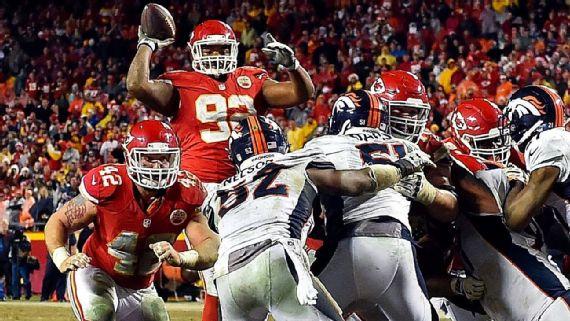 Kansas City Chiefs eliminated Denver Broncos from play-off contention image: espn.com