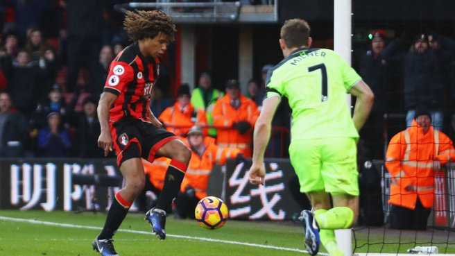 Nathan Ake's late winner condemns Liverpool to their first league defeat since August image: skysports.com