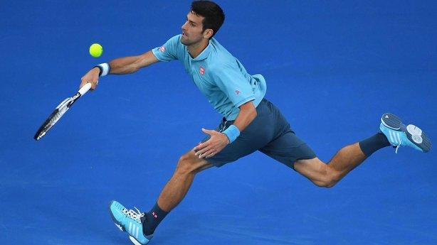 Novak Djokovic image: rte.ie