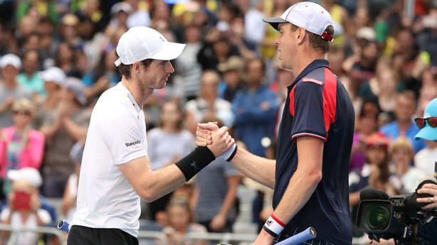 Andy Murray remains on course for a first Australian Open title image: rte.ie