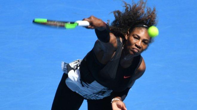 Serena Williams looks to win a record seventh Australian Open title image: rte.ie