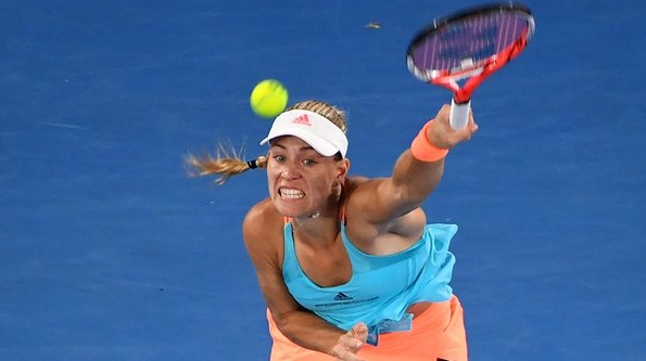 Angelique Kerber won't be wining a third grand slam title in Melbourne image: theguardian.com