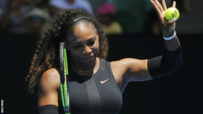 Serena Williams is just one grand slam win away from breaking Steffi Graf's record image: bbc.com