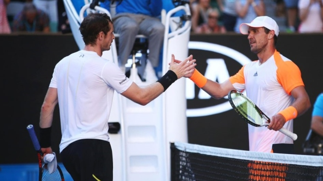 Mischa Zverev ended Andy Murray's quest for a first Australian Open title image: thesun.co.uk
