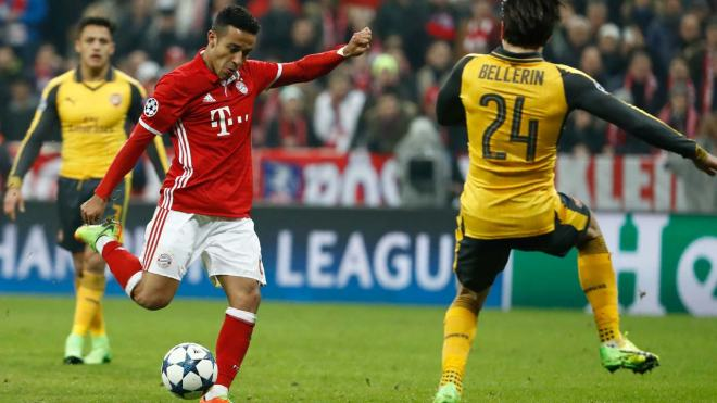 Bayern Munich also knocked out Arsenal in the last 16 in 2013 and 2014 image: guardian.ng